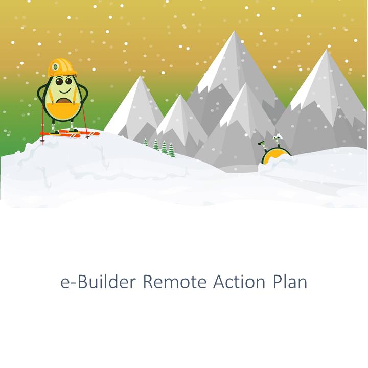 remote action plan e-builder training webinar