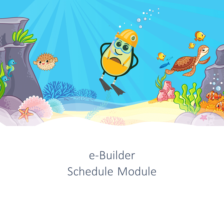 schedule module training e-builder